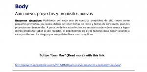 Primer artículo Proyectum